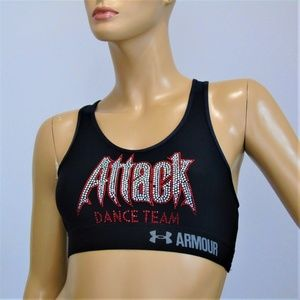 Under Armour Compression Sports Bra Bejeweled